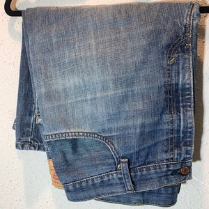 LEVIS Mens Sz 40 Loose Straight Denim Shorts